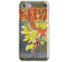 Pokemon Gold  iPhone Case/Skin