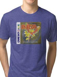 Pokemon Gold  Tri-blend T-Shirt