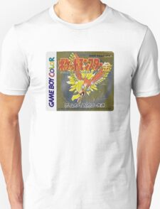 Pokemon Gold  Unisex T-Shirt