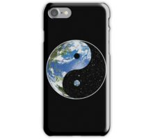 Heaven and Earth Yin Yang Symbol iPhone Case/Skin