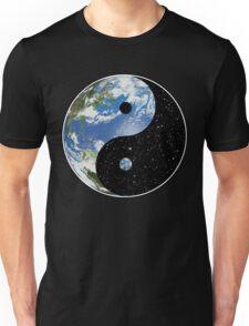 Heaven and Earth Yin Yang Symbol Unisex T-Shirt