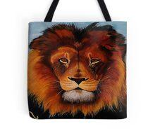 Unique painted lion Tote Bag