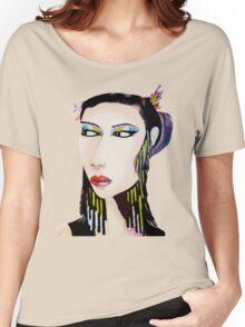 Unique Modern Geisha  Women's Relaxed Fit T-Shirt