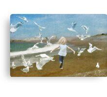 I'm like a bird Canvas Print