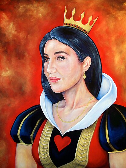 Queen of Hearts by whiterabbitart