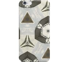 abstract trendy modern pattern iPhone Case/Skin
