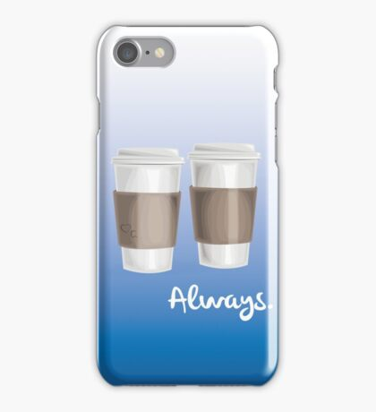 ALWAYS - a Castle celebration (with coffee) iPhone Case/Skin