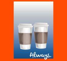 ALWAYS - a Castle celebration (with coffee) Kids Tee