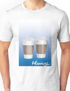 ALWAYS - a Castle celebration (with coffee) Unisex T-Shirt