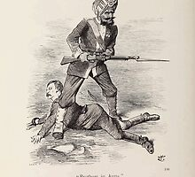 Cartoons by Sir John Tenniel selected from the pages of Punch 1901 0166 Brothers In Arms by wetdryvac
