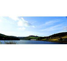 Lady Bower Dam, Resevoir, Sheffield, Yorkshire Photographic Print