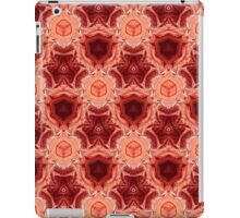 red abstract pattern iPad Case/Skin