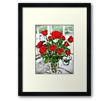 The Color of Love 2 Framed Print