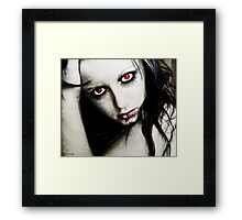the uknown Framed Print