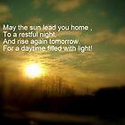 Follow The Light of The Sun by debbiedoda