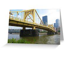 The City Of Bridges Greeting Card