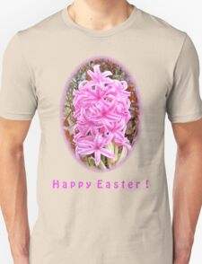 Happy Easter Pink Hyacinth Light Shirts T-Shirt