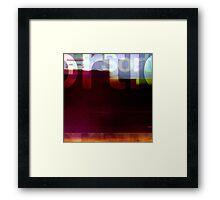 sortie Framed Print