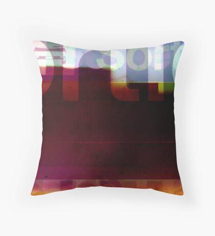 sortie Throw Pillow