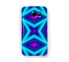blue purple line Samsung Galaxy Case/Skin