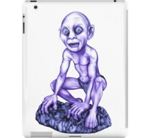 Gollum's T-shirt iPad Case/Skin