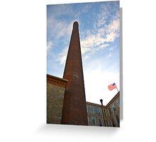 Industrial renovation - Royal Mills apartments Greeting Card