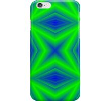 Two colored line pattern iPhone Case/Skin