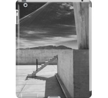 On the roof of Le Corbusier's Unité d'Habitation in Marseille - 4 iPad Case/Skin