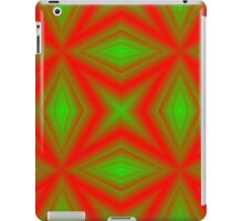 red green line iPad Case/Skin