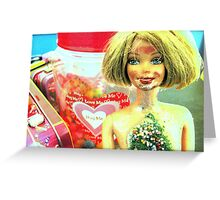 Candy Chick Greeting Card