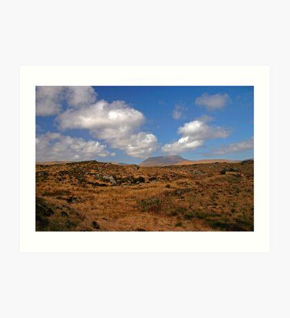 A Donegal Landscape Art Print