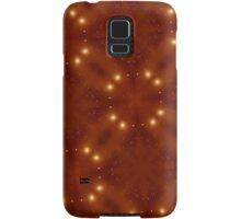 Star Pattern red Samsung Galaxy Case/Skin