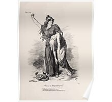 Cartoons by Sir John Tenniel selected from the pages of Punch 1901 0139 Vive la Republique Poster