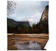 Mirror Meadow, Yosemite Poster