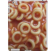 Hoops, Hoops, Glorious Hoops - Spaghetti Hoops iPad Case/Skin