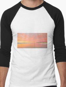 Dawn on Main Beach - Gold Coast Qld Australia Men's Baseball ¾ T-Shirt