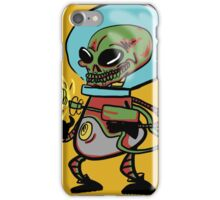 Evil Alien Bow down to your invaders! iPhone Case/Skin