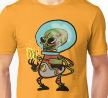 Evil Alien Bow down to your invaders! Unisex T-Shirt