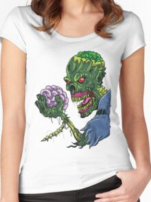 BRAINS!!! Women's Fitted Scoop T-Shirt