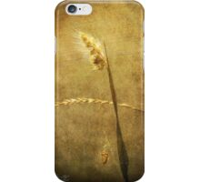 Sighing of Changes ... (Summer Grasses IV) iPhone Case/Skin