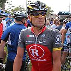 Lance Armstrong  by Judith Cahill