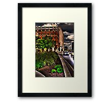 2nd St. HDR Framed Print