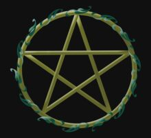 Pentacle with flowers by Kayleigh Walmsley