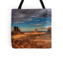 The Mittens of Monument Valley Tote Bag