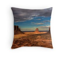 The Mittens of Monument Valley Throw Pillow