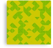 Lime Light Ceramic Tiles Canvas Print