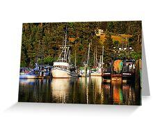 Fishing Fleet Greeting Card