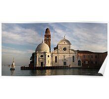 Isola di San Michele Poster