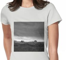 russian rural landscape  Womens Fitted T-Shirt