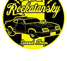 Rockatansky speed shop by edcarj82